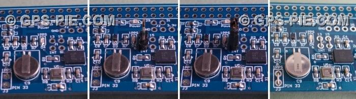 GPS-PIE COM - Raspberry Pi L80 GPS Module Motion Sensing Board